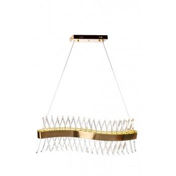 Люстра стеклянная LED «Волна» 62GDW-913-800