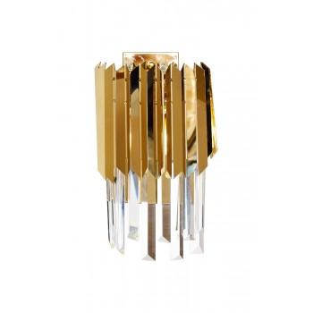 Бра с кристаллами (золото) 62GDM-81006