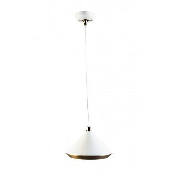 Лампа потолочная металлическая белая 60GD-9310P/1W