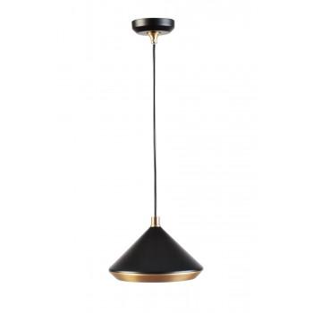 Лампа потолочная металлическая черная 60GD-9310P/1BL