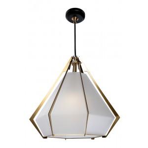 Светильник потолочный подвесной со стеклом 60GD-9932P/E-W