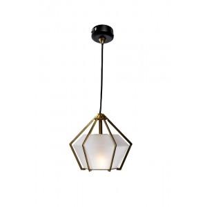 Светильник потолочный подвесной со стеклом 60GD-9932P/B
