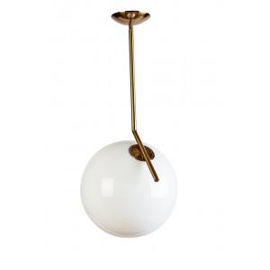 Светильник потолочный «Шар» (белое стекло) 60GD-9137P/L