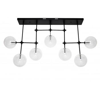 Светильник потолочный «Стеклянные шары» K2KG0835PBL-7A