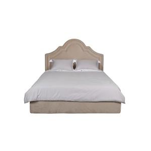 Кровать Charlotte велюровая бежевая CHARLOTTE2К-160-Bel01