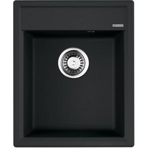Кухонная мойка черный Artgranit Omoikiri Daisen 42-BL