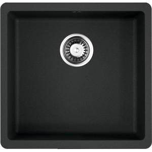 Кухонная мойка черный Artgranit Omoikiri Kata 44-U-BL