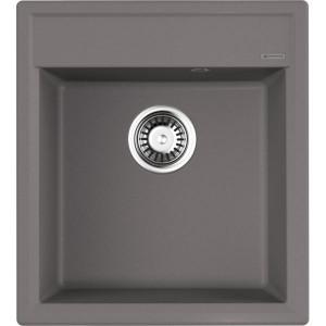 Кухонная мойка ленинградский серый Artgranit Omoikiri Daisen 46-GR