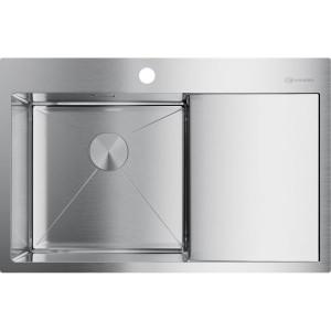 Кухонная мойка нержавеющая сталь Omoikiri Akisame 78-IN-L