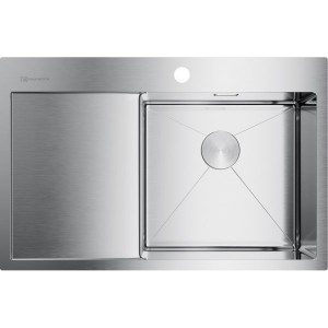 Кухонная мойка нержавеющая сталь Omoikiri Akisame 78-IN-R