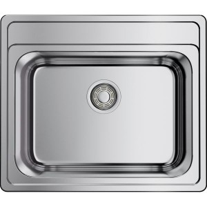 Кухонная мойка нержавеющая сталь Omoikiri Ashi 56-IN