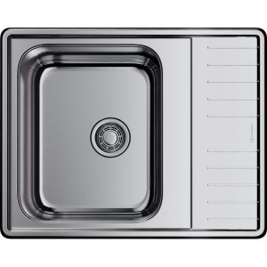Кухонная мойка нержавеющая сталь Omoikiri Sagami 63-IN