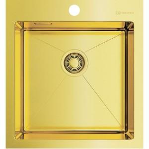 Кухонная мойка светлое золото Omoikiri Akisame 46-LG