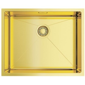 Кухонная мойка светлое золото Omoikiri Taki 54-U/IF-LG
