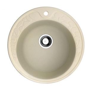 Кухонная мойка ваниль Artgranit Omoikiri Tovada 51-BE
