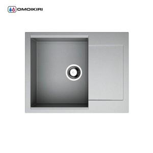 Мойка Daisen 65-GR Artgranit/leningrad grey 4993682