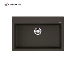 Мойка Daisen 77-BL Artgranit/Черный 4993630