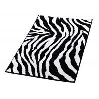 Коврик для ванной комнаты Zebra черно-белый 60*90 711300