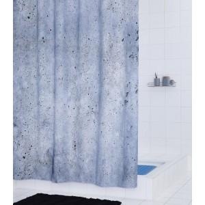 Штора для ванных комнат Cement серый 180*200 4102307