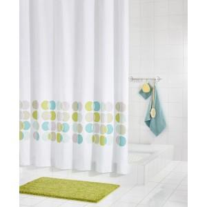 Штора для ванных комнат Eclipse цветной 180Х200  46910