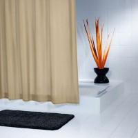 Штора для ванных комнат Madison бежевый/коричневый 240*180 45409