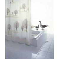 Штора для ванных комнат Park бежевый/коричневый 240*180 47438