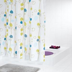 Штора для ванных комнат Soaring цветной 180*200 42393