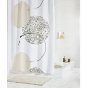 Штора для ванных комнат Sophy серый 180Х200  47390