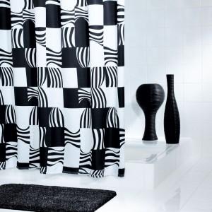 Штора для ванных комнат Swing черный 180*200 42370