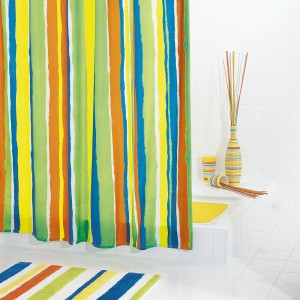 Штора для ванных комнат Tutu цветной 180*200 48360