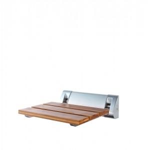 Сидение откидное в ванну бамбук/матовый хром А0020200