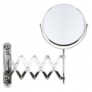 Зеркало косметич. подвесное Anna 1х/5х-увелич. хром О3201100