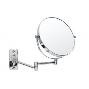 Зеркало косметич. подвесное Belle 1х/5х-увелич. хром О3104100