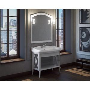 Мебель для ванной напольная Smile Империал 80 белая