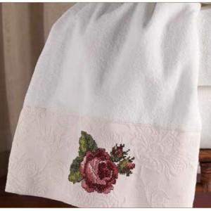 Полотенце банное Avanti Jasmine 036441WHT
