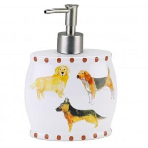 Дозатор для жидкого мыла Avanti Dogs on Parade 13688D