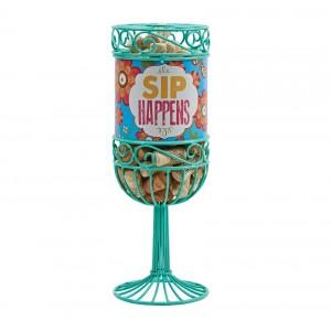 Декоративная емкость для винных пробок Boston Sip Happens 27932