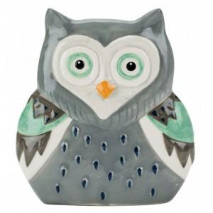 Салфетница Boston Artsy Grey Owl 32969