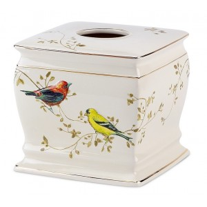 Бокс для салфеток (салфетница) Avanti Gilded Birds 11984E