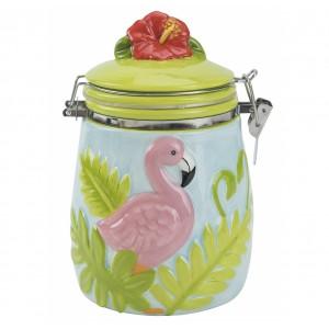 Банка для сыпучих продуктов Boston Flamingo 47668
