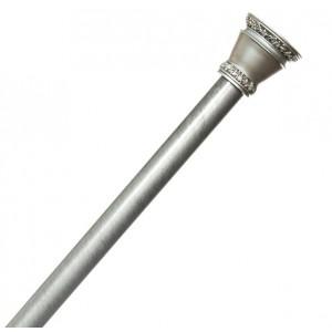 Карниз для ванной Blonder Home Elegance Silver 110-200см BH-ESL/03