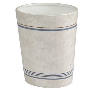 Корзина для мусора Creative Bath Ticking Stripe TIC54BLU