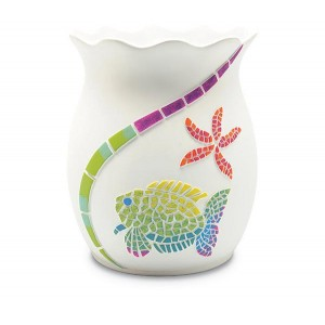 Корзина для мусора Blonder Home Fish Fantasy XFISHF015R