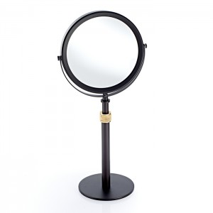 Косметическое зеркало 17xh50см, цвет: темная бронза / золото матовое Decor Walther Club SP 13/V 0101041