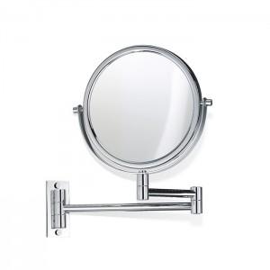 Косметическое зеркало 19см, подвесное, увел. 5x, цвет: хром Decor Walther SPT 33 0110900
