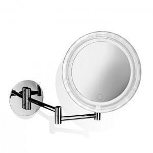 Косметическое зеркало 20см, подвесное, увел. 5x, сенсорный вкл., подсветка LED, цвет: хром Decor Walther BS 16 Touch 0121400