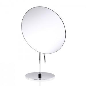 Косметическое зеркало 20.5xh30.5см, настольное, увел. 3x, цвет: хром Decor Walther Round SPT 71 0122500
