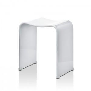 Табурет 40x30x46см, акрил, цвет: белый Decor Walther DW 80 0506850