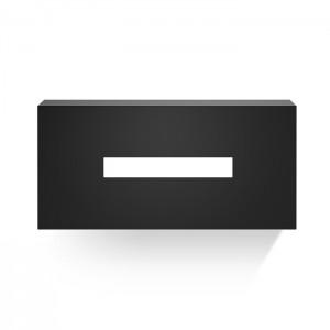 Диспенсер для салфеток 12x25x7.5см, цвет: черный матовый Decor Walther Classic KB 82 0830460