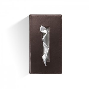Диспенсер для салфеток 24x12x8см, цвет: темно-коричневая кожа Decor Walther Brownie KB40 0838390